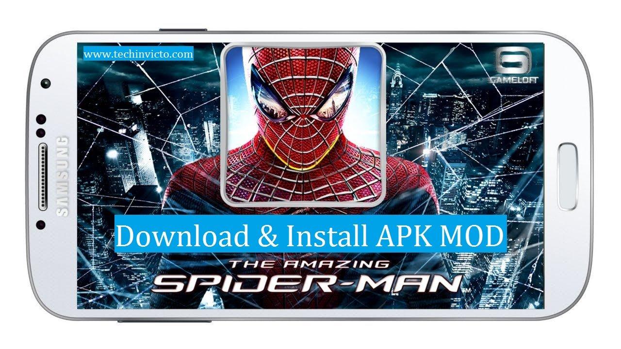 the amazing spider man mod apk