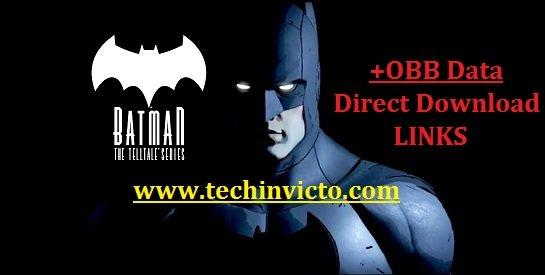Batman The Telltale Series v1 63 Mod Apk Unlocked + OBB Data