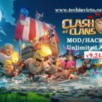 Clash of Clans 9.24.3 Unlimited Mod Hack APK 2017 update - Featured Image