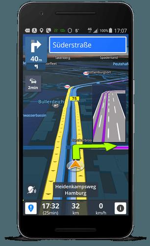Sygic GPS Navigation & Maps v17.1.7 Patched APK MOD - 2