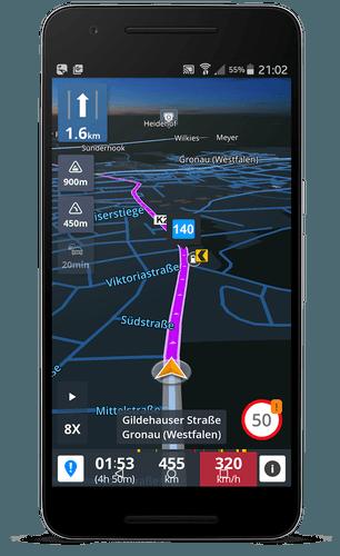 Sygic GPS Navigation & Maps v17.1.7 Patched APK MOD - 3