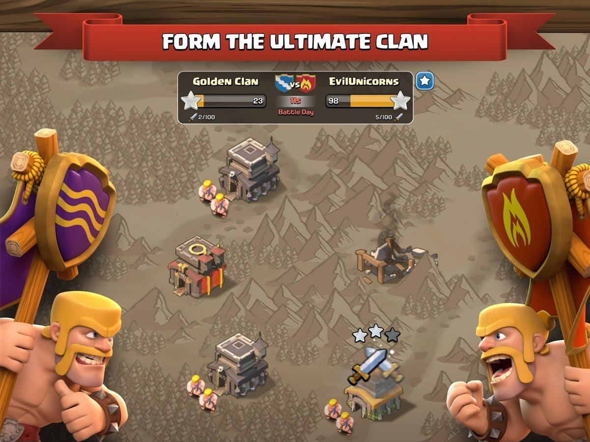 Clash of Clans 9.24.15 Unlimited Mod Hack APK - 3