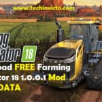 Download FREE Farming Simulator 18 1.0.0.1 Mod Apk + DATA - Featured Image