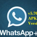 Download WhatsApp Plus v5.70 MOD Apk Crack latest