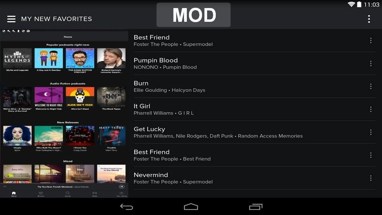 Download Spotify Music Premium v8.4.33.536 Mega Mod APK 2018 - 1