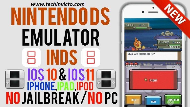 Download Nintendo DS emulator - iNDS11 Is iNDS Emulator for iPhone X