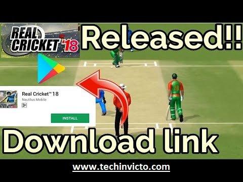 Download & Install Real Cricket™ 18 Mod Apk | Techinvicto