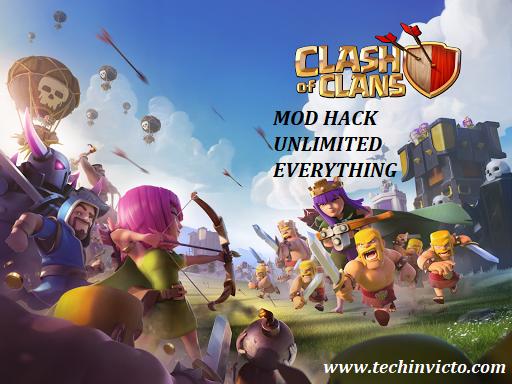 clash of clans v10.134.6 mod apk (unlimited gems/gold/elixir)