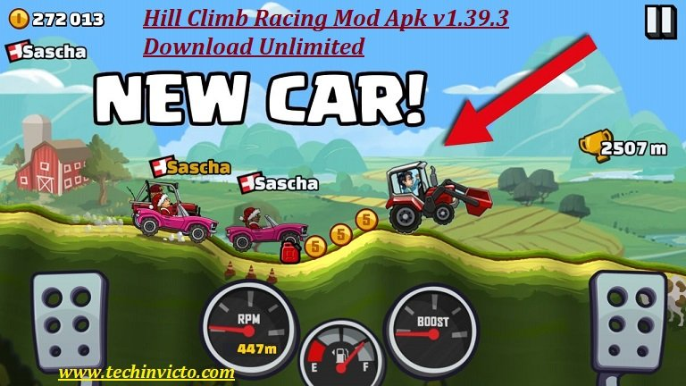 hill climb racing hack apk download