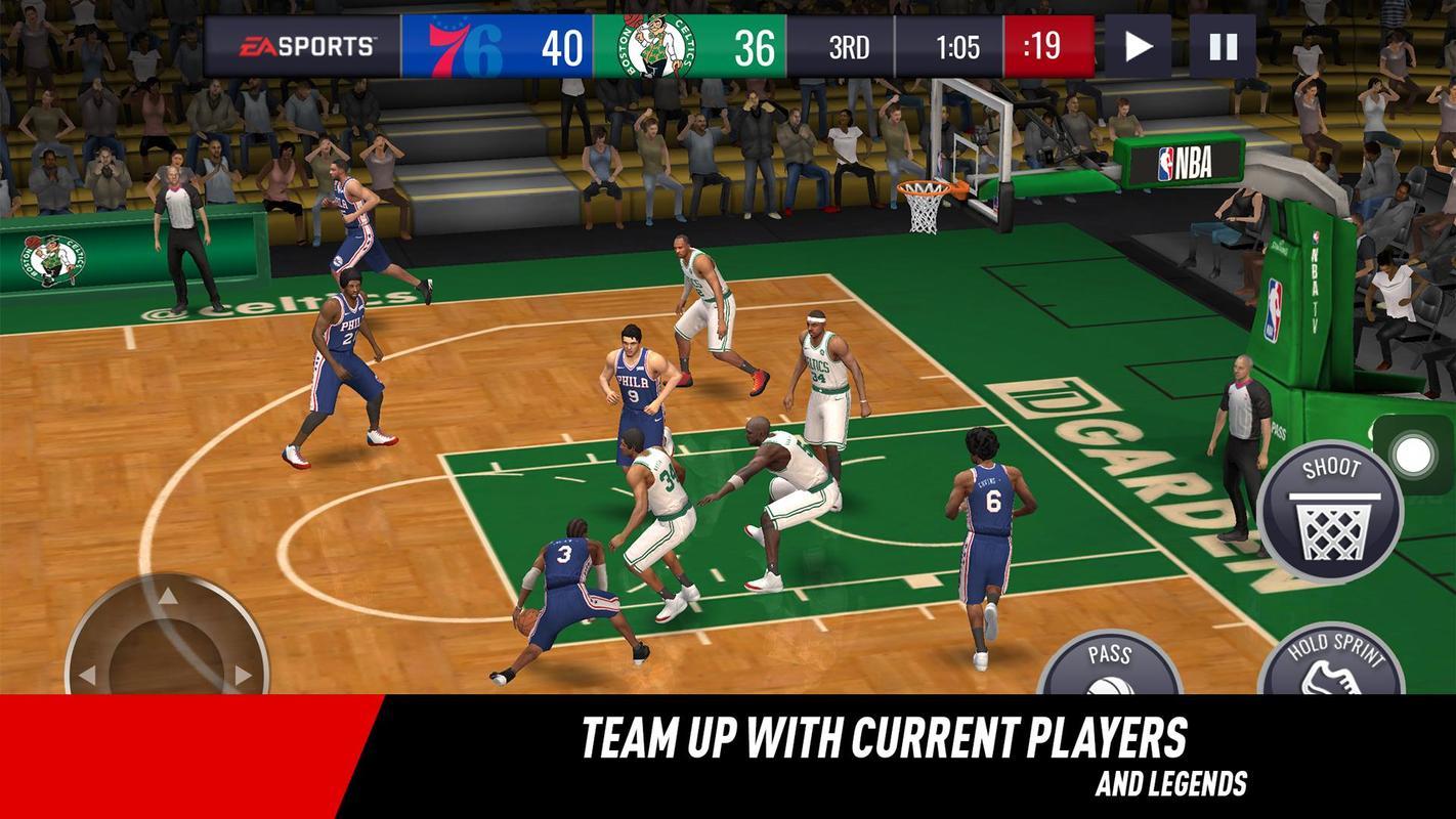 NBA LIVE Mobile Basketball Apk Mod Download | Techinvicto
