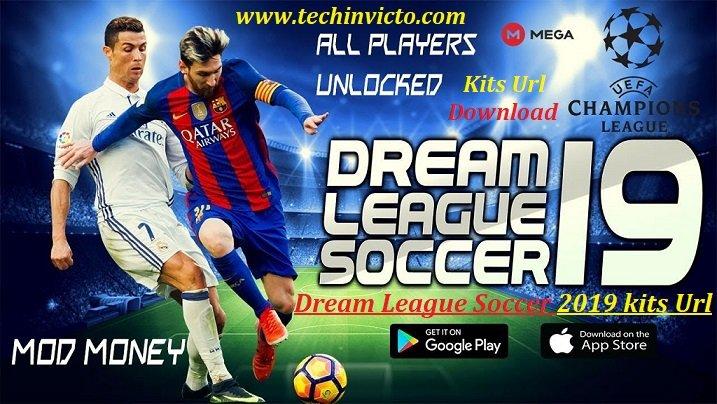 Dream League Soccer 2019/20 kits Unlimited Download Url | Techinvicto